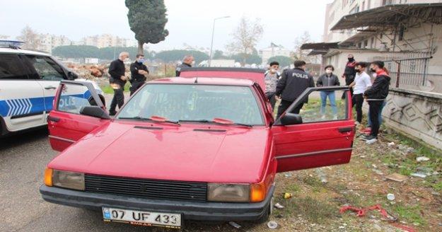 Gençlerin otomobille kısıtlama kaçamağı pahalıya maloldu