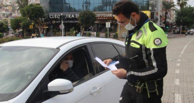 İşte Alanya'da hafta sonu yasağa uymayanlara yazılan ceza miktarı