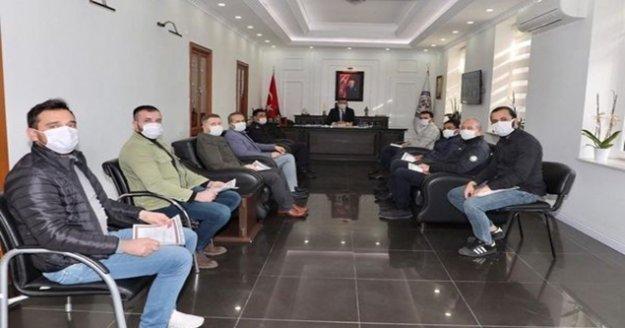 Kaymakam Ürkmezer'den polis memurlarına başarı belgesi