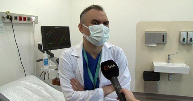 Koronavirüsü yenen doktor: 'Bir daha işimi yapamayacağımı düşündüm'