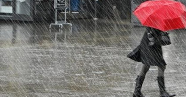 Meteoroloji'den sağnak yağış uyarısı