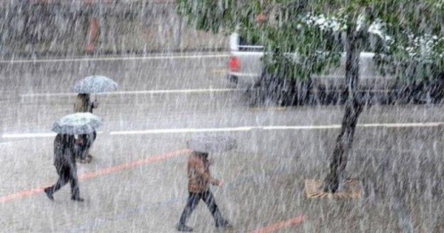 Meteoroloji'den Alanya'ya yağış uyarısı!