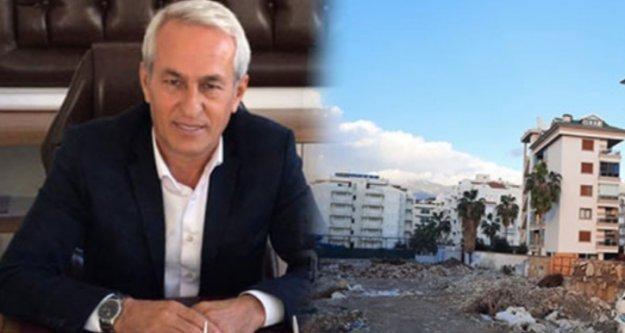 Oba'da 10 otel yıkıldı