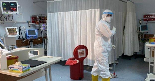 Pandemiyle savaşın gizli kahramanı, fedakar sağlıkçıları aratmadı