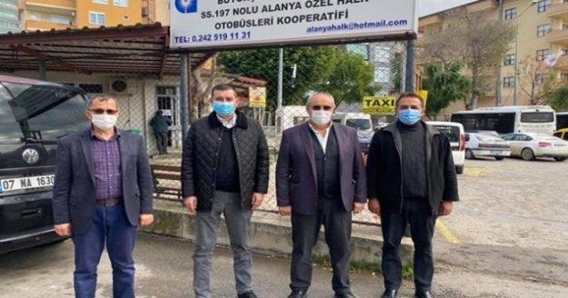 Türkdoğan'dan kooperatife ziyaret
