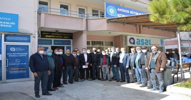 58 mahalle muhtarından ASAT'a yüksek fiyat dilekçesi