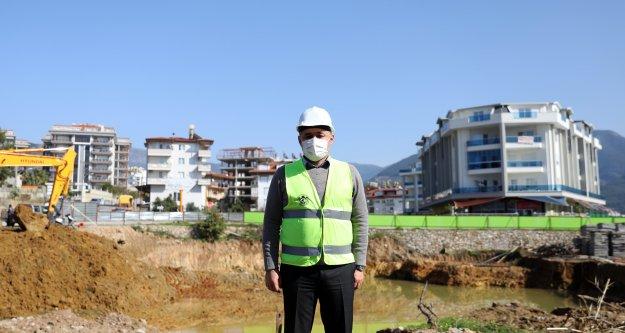 Alanya Belediyesi Eşsiz Kreş Projesi için ilk kazmayı vurdu