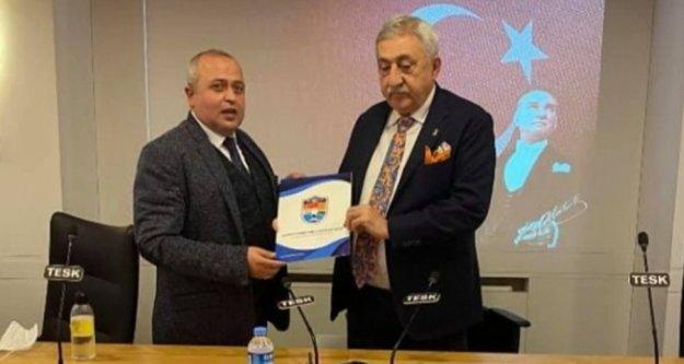 Alanya esnafının sorunları Ankara'da