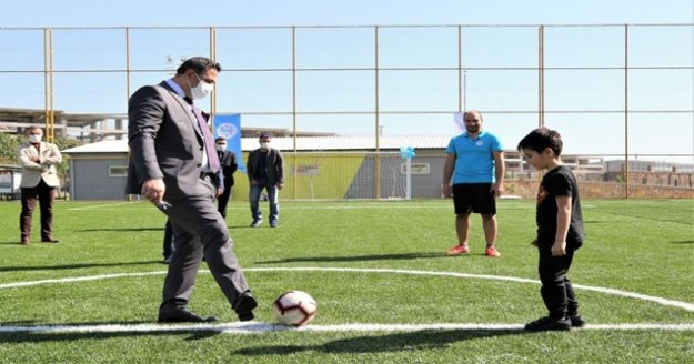 ALKÜ spor tesisi açıldı
