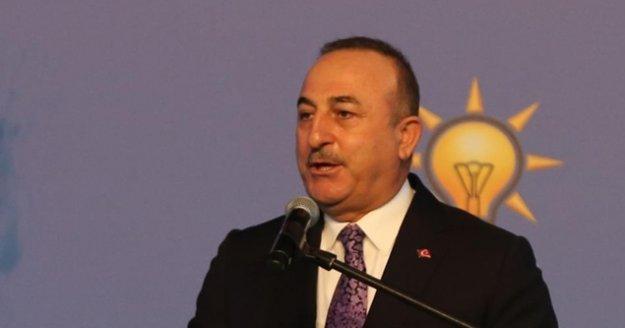 Bakan Çavuşoğlu: 'Türkiye de kendi raporlarını dünya insanlığı için yazmaya devam edecek'