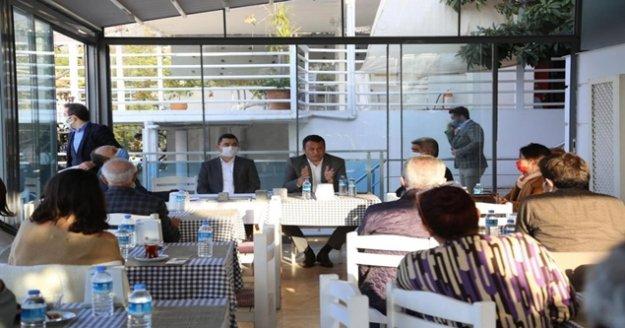 Başkan Ulutaş otelcilerle bir araya geldi