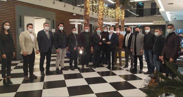 Büyükelçi Raybak MÜSİAD'ı ziyaret etti