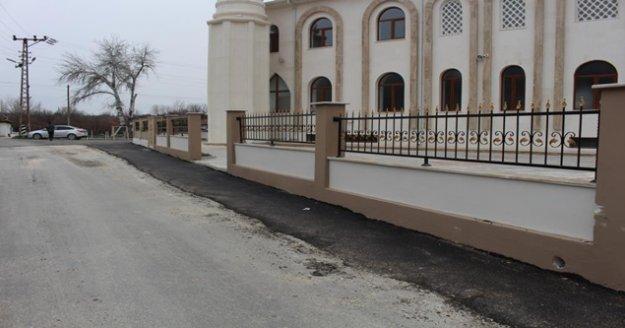 Büyükşehir'den iki camiye destek
