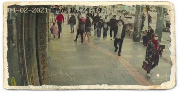 Eşi ve çocuğuyla yürüyen kadına taciz iddiası ortalığı karıştırdı