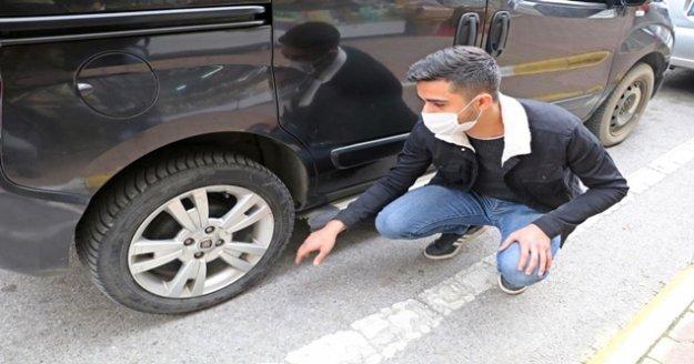Genç bilgisayarcı 2 gün önce aldığı aracını hurda halinde görünce neye uğradığını şaşırdı