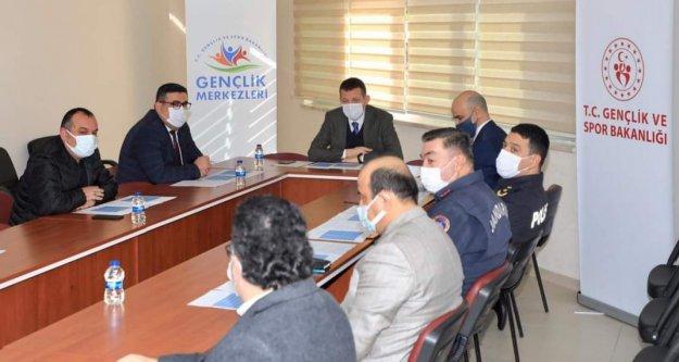 İlçe Spor Güvenlik Kurulu toplandı