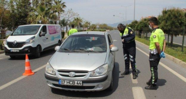 İşte Alanya'da hafta sonu kısıtlamasına uymayanlara yazılan ceza miktarı