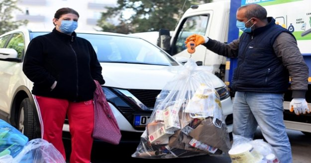 Ocak ayında Çevreci Komşu Kartlara 64 bin 178 lira yüklendi