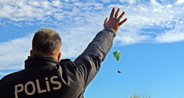 'Polis kuş uçurtmadı' deyimi gerçek oldu
