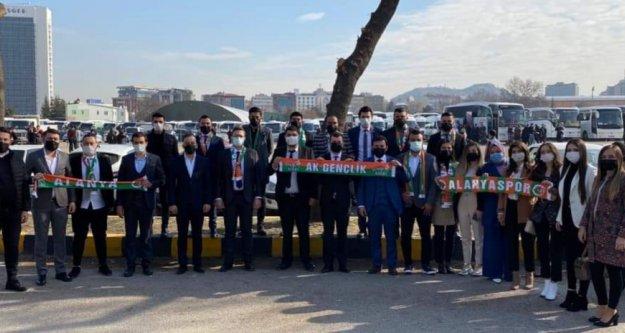 Alanya Ak Gençlik kongre için Ankara'da