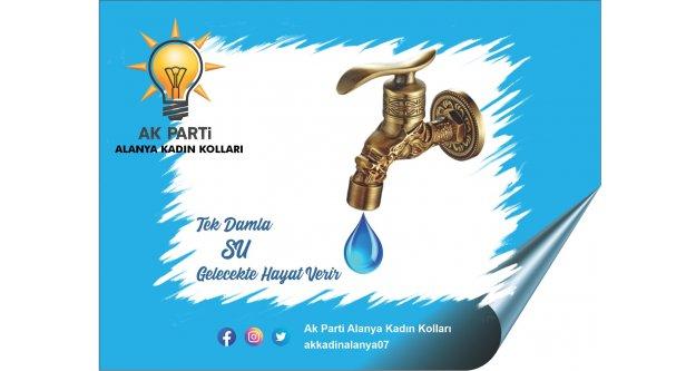 Alanya Ak Kadınlar'dan su günü açıklaması