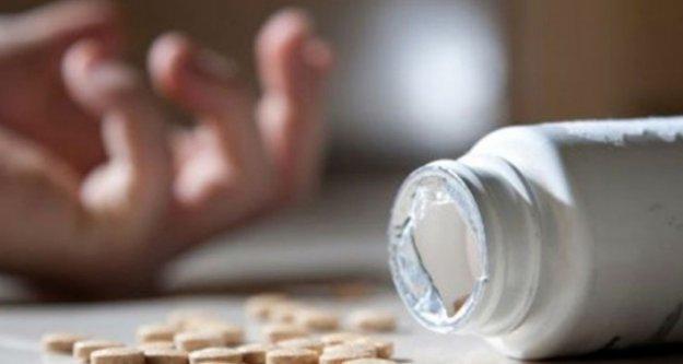 Alanya'da 28 adet hap içen kadın yaşam mücadelesi veriyor