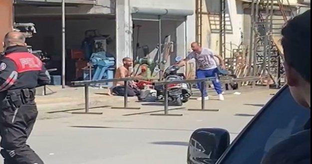 Alanya'da 2 kardeş ellerine tüp alıp sanayiyi birbirine kattı
