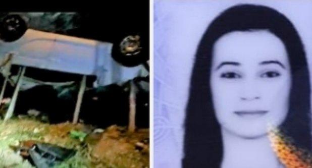 Alanya'da aracıyla 20 metrelik uçuruma yuvarlanan kadın sürücü öldü