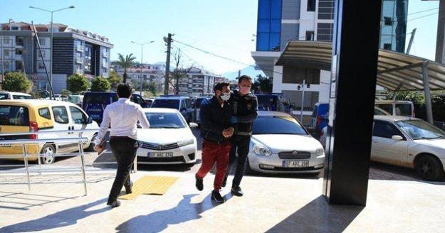 Alanya'daki uyuşturucu operasyonda 1 tutuklama