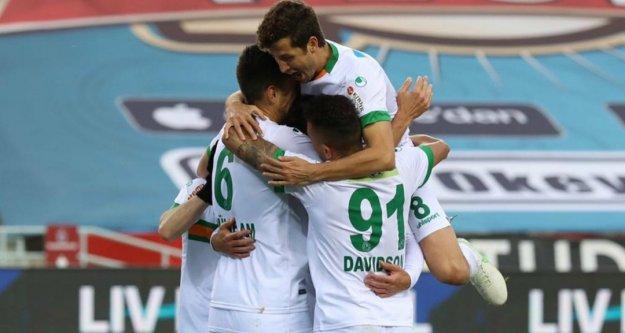 Alanyaspor Trabzon'dan 3 puanla dönüyor