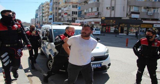 Arızalı telefon kavgasında polise 'Bunun hesabı kesilecek' tehdidi
