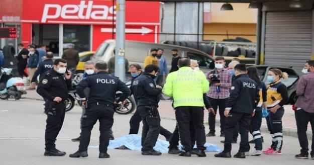 ASAT çalışanı makas atan sürücünün kurbanı oldu