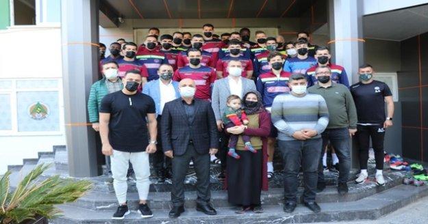 Aytemiz Alanyaspor'dan Ahmet bebeğe destek