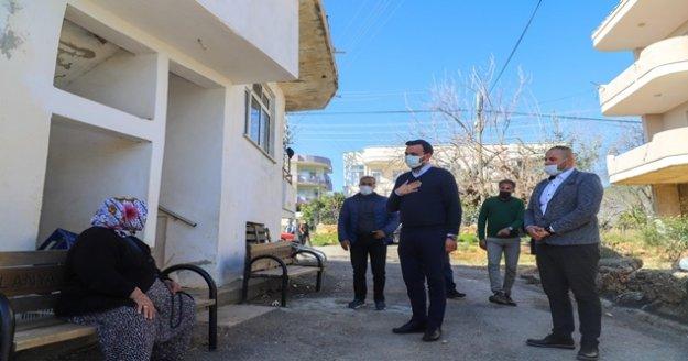 Başkan Toklu mahalle ziyaretlerine devam ediyor