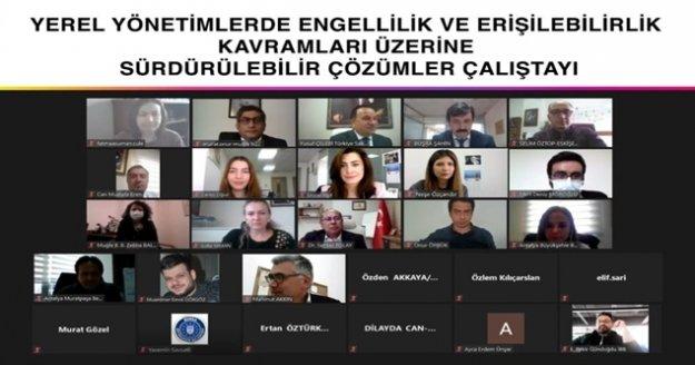 Büyükşehir Belediyesinin online çalıştayları sürüyor