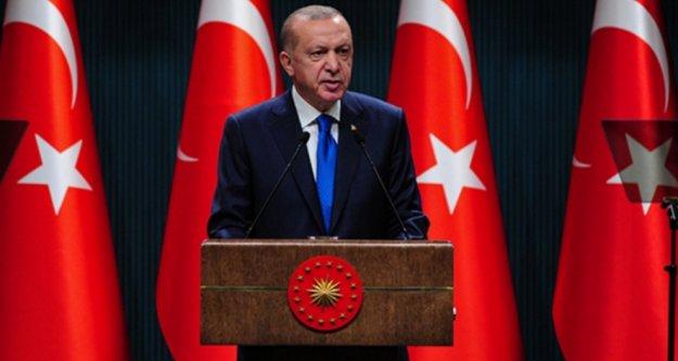 Erdoğan Türkiye'nin beklediği açıklamayı yaptı