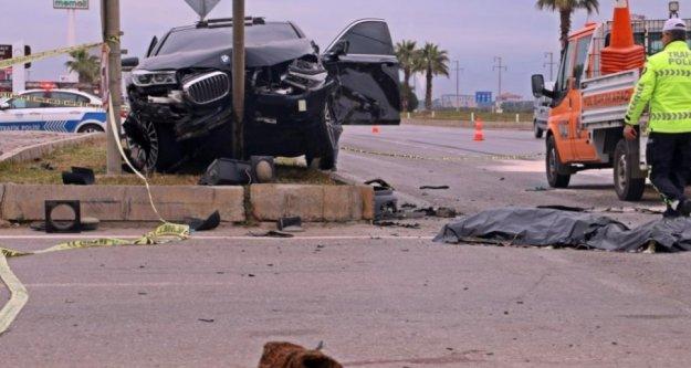 Feci kaza: 2 ölü, 3 yaralı var