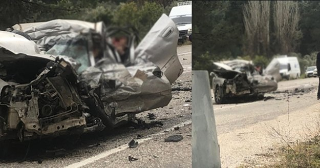 Fethiye-Antalya yolunda feci kaza: 5 ölü