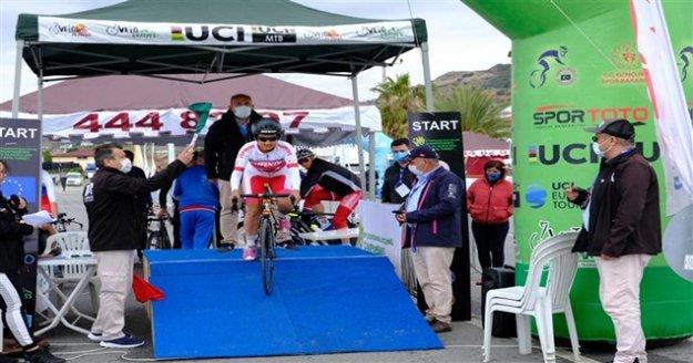 İşitme Engelliler Avrupa Yol Bisiklet Şampiyonası yapıldı