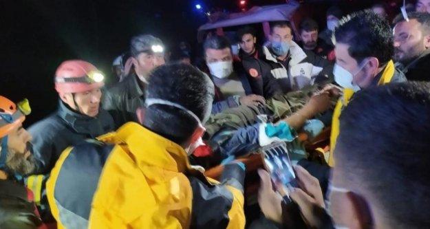 Kaybolduktan 38 saat sonra yaralı olarak bulundu