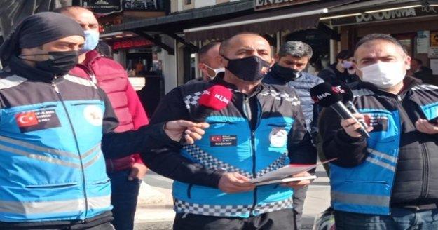 """Motosikletli kuryeler isyan etti: 'Ya teslim edeceksin ya öleceksin"""""""