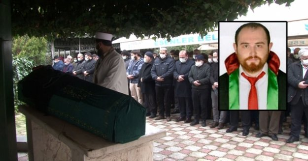 Öldürülen avukat Ersin Arslan son yolculuğuna uğurlandı