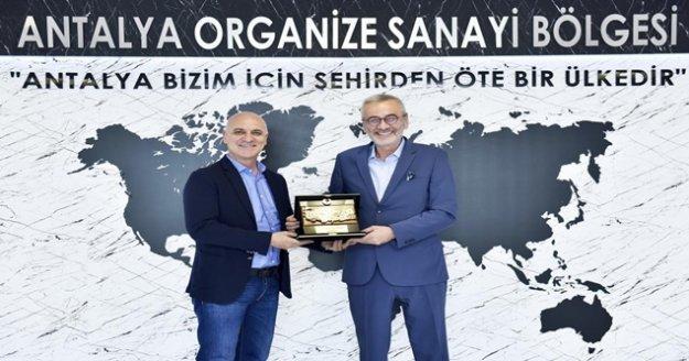 """OSB Başkanı Bahar: """"Antalyaspor'a desteğimiz sürecek"""""""