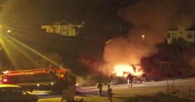 Otomobili yaktı, ifadesi pes dedirtti