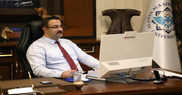 Rektör Kalan serhat şehri Antalya'ya anlattı