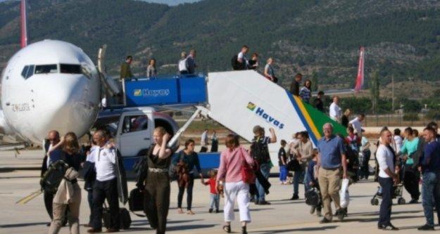 Şubat'ta Gazipaşa Alanya Havalimanına inen yolcu sayısı belli oldu