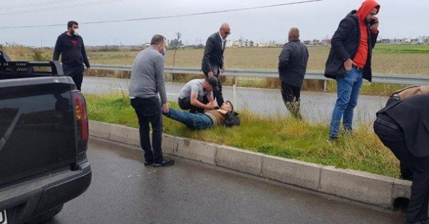 Trafik kazası sonrası düşündüren ilk yardım kargaşası