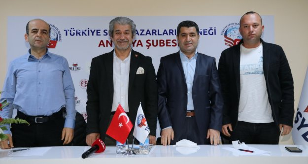 TSYD Antalya Şube'de ikinci Şifa Çiçek dönemi