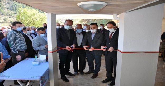 Türktaş Mahallesi Mandıras Cami dualarla ibadete açıldı