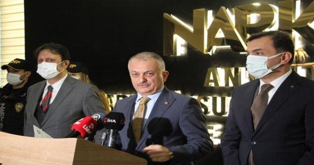 Uyuşturucu satıcılarına 'Mavi Bayrak' operasyonu:     200 gözaltı